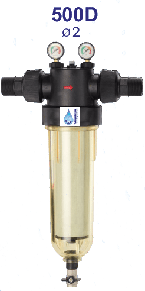 Descalcificador ecológico industrial 500 D