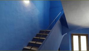 Pintura ecológica de cal pigmentada
