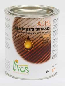 Aceite para terrazas ecológico ALIS 579