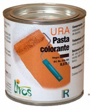 Pasta colorante pigmentos minerales URA 424