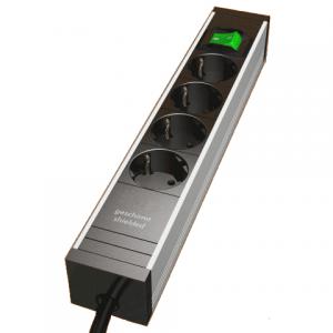D6700 - Regleta apantallada 4 conexiones