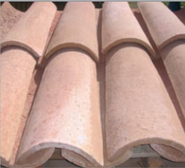 Tejas de fabricación manual